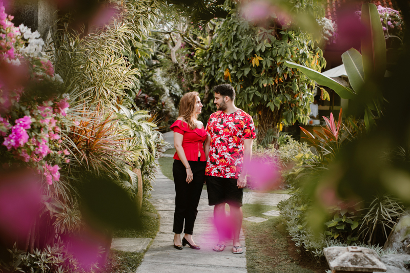Bali Engagement Session with Nouf & Anas
